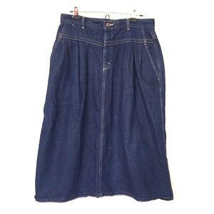 Vintage Lee Jean Skirt